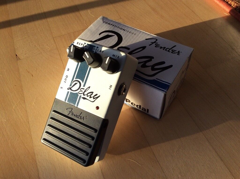 Fender Competition Series Delay Pedal for sale