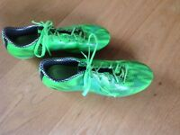 Size 7 football boots, trainers and astro trainers