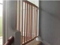 Baby Dan Wooden Stair Gate