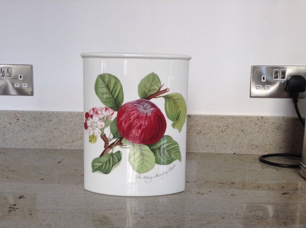 Vase, Portmeirion Hoary Morning Applep