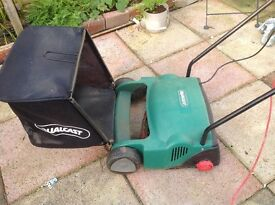 QUALCAST LAWN MOWER WITH ROLLER. FULL WORKING ORDER