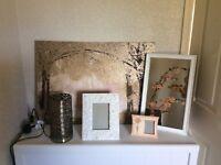 Modern decorative bronze home bundle