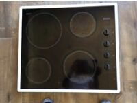 Bosch cooking hob with halogen heating
