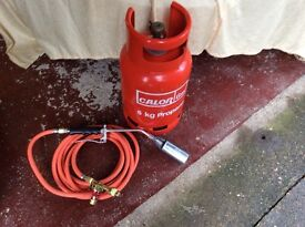 Gas torch and gas bottle brand new