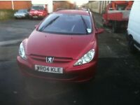 2004 PEUGEOT 406 diesel estate can be used as 7 seater