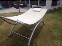 Large modern garden hammock / day bed