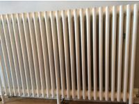 Cast Iron Traditional style radiator white/cream