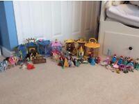 Disney Princess Miniature Dolls & Play Sets