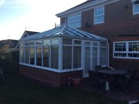 Conservatory for sale. Dimensions 5m x 4m. Collection only and will require to be disassembled.