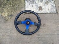 Steering wheel and air bag compatible boss kit Citroen saxo Peugeot 106 fitment