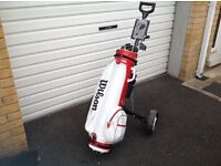 Golf clubs, trolley & Wilson Bag - Price Reduced