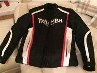 Genuine triumph motorcycle jacket
