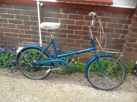 Vintage Raleigh 20 Shopper 3 Speed