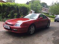 Sporty 1999 Red Honda Prelude 2L
