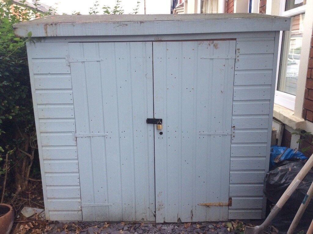 wooden garden shed 100