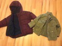 Next 2-3 kids coat and H&M 2-3 military