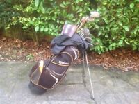 GOLF CLUBS WILSON TUNGSTEN GENTS RIGHT HANDED COMPLETE SET