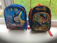 Thomas the tank & Pirate Jake children's back packs