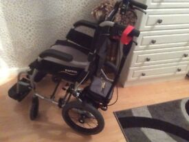 Karma Mobility Lightweight Wheelchair