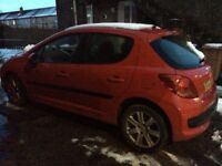 Peugeot 207 hdi sport 2006 long mot £30 tax