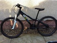 "Boys Ridgeback 24"" wheel mountain bike for sale"