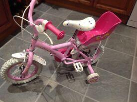 "Girls Apollo Cupcake bike 12"" wheels"