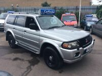 MITSUBISHI SHOGUN sport V6 3000 AUTOMATIC reduced to £1995