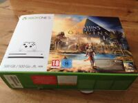 Xbox One S 500 GB Console, 1 Controller, game, All Leads, Box, excellent condition like new