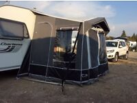 CARAVAN AWNING ( still in guarantee until may used twice)