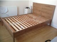 IKEA queen sized bed