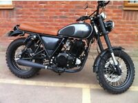 Herald Rambler 250cc Retro Scrambler Style with modern single cylinder 4-stroke NOW FREE DELIVERY
