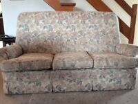 Parker Knoll 3 seawater sofa