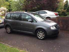 2006 Volkswagen Touran 1.9 TDi Excellent condition, fully serviced and MOT until September
