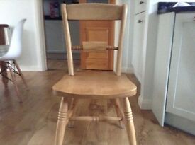 6 x Pine Farmhouse Style Dining Chairs