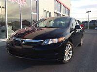 2012 Honda Civic EX BAS KILOMETRAGE !! TOIT OUVRANT !!