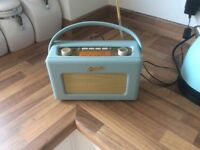 ROBERTS RD60 DAB RADIO,DUCK EGG, FABULOUS, BARGAIN AT £80