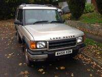Landrover discovery TD5. 2 owners from new,low mileage 12 months mot FSH