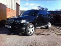 BMW X5 E53 (2001-2006)3.0.4.4,PETROL.3.0DIESEL,BREAKING FULL CARS CALL 07411941369 BLACK & SILVER