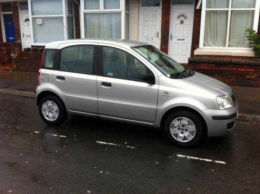 2004 fiat panda dynamic 1 2 grey 5 door hatchback petrol. Black Bedroom Furniture Sets. Home Design Ideas
