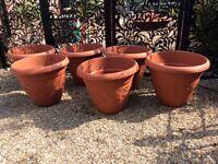 Extra large plastic planters