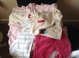 Bundle baby girl clothes aged 3/6 months