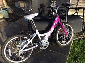 Girls Dawes angel bike 20 inch