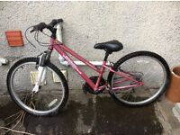 Girl's Apollo Bike (20 inch wheels) - £85