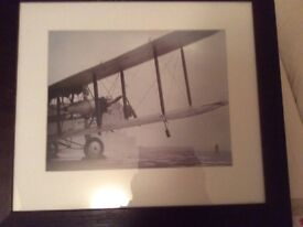 Imperial airways framed photo Hendon a/field