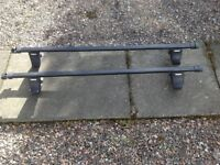 Thule car roof bars and twin cycle roof carriers
