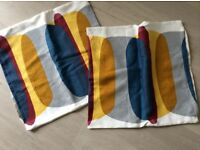 Ikea malin figur cushion covers x2