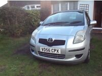 Toyota Yaris 1.4 D4D Diesel, Family Owned From New, 1 Former Keeper From New, 12 Months Mot