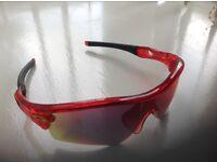 Brand New - Red Oakley sunglasses