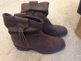 Suede boots from Next