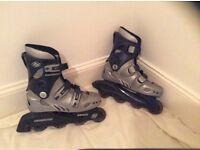 Boys inline 'street wolf' skates